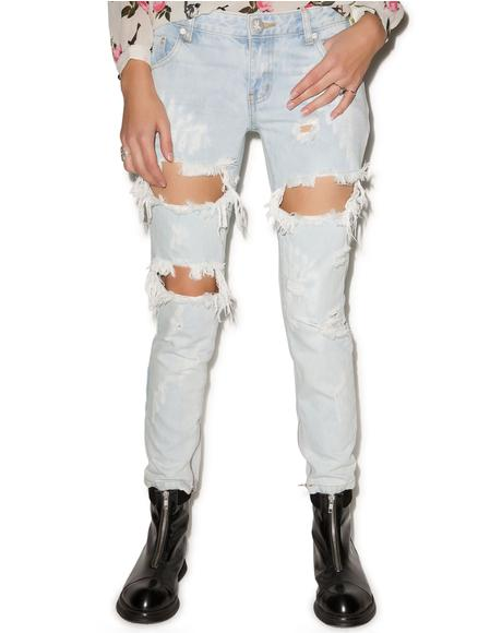 Thrashed Saint Freebirds Jeans