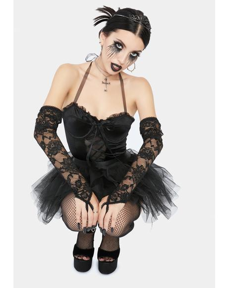 Not So Goody Two Shoes Black Swan Costume