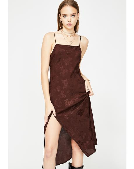 Rose Quinty Maxi Dress