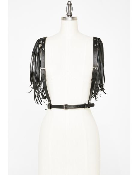 Dusted N' Disgusted Fringe Harness