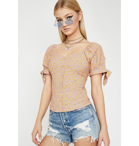 Bliss Reality Floral Blouse