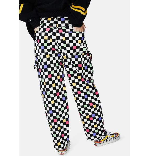 Black Friday Galaxy Checkered Pants