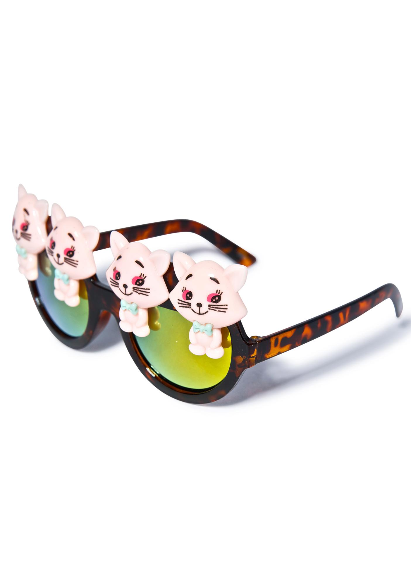 Gasoline Glamour Pussyfoot Wilde Sunglasses