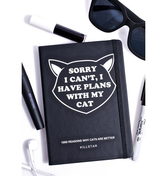 Killstar Got Plans Journal