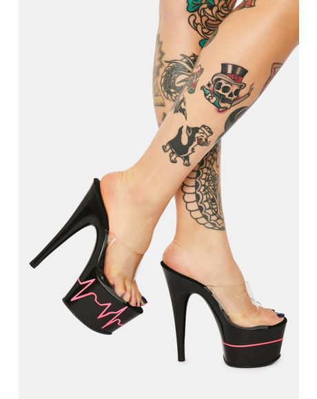 Heartbeat Racer Heels
