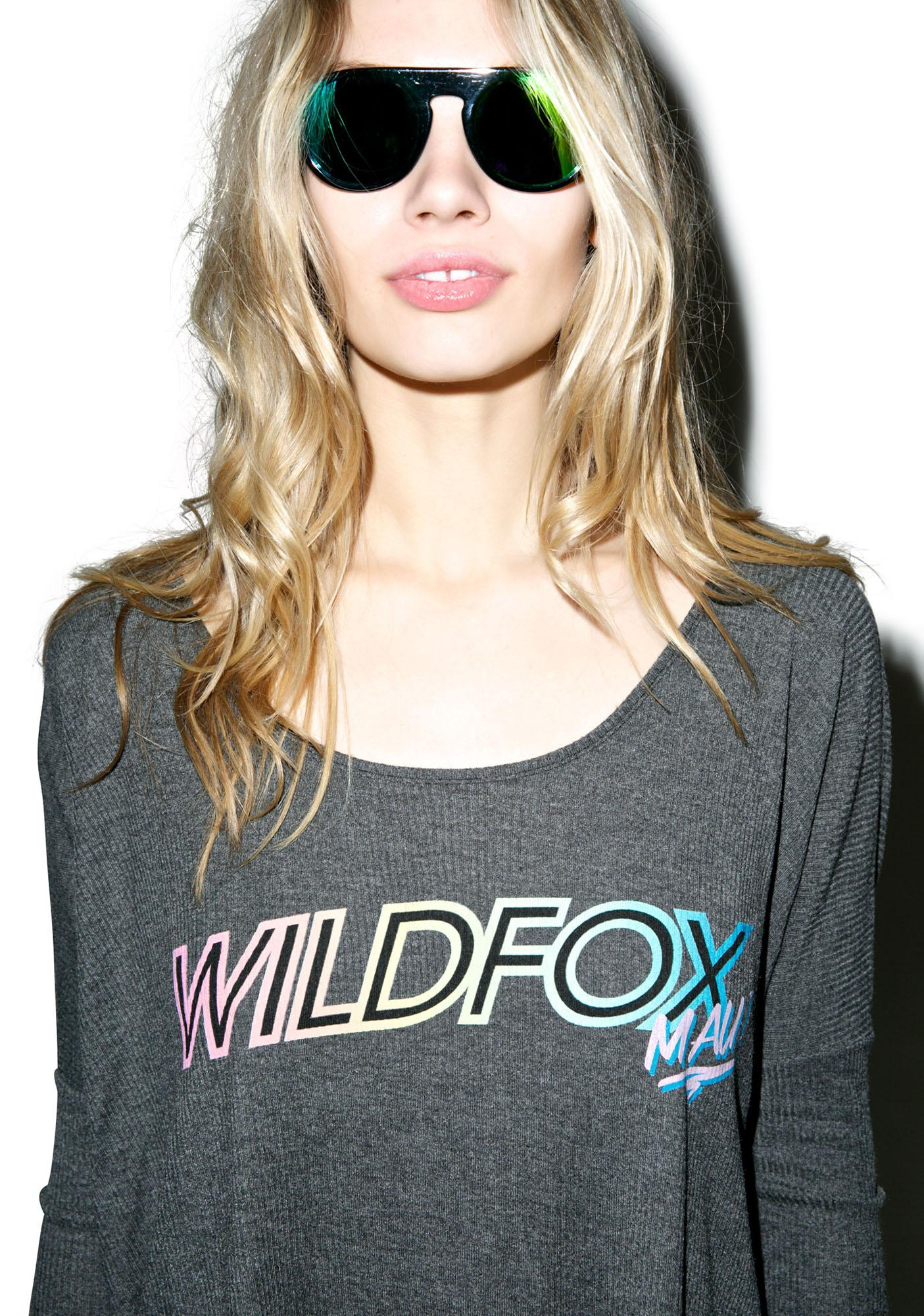 Wildfox Couture Wildfox Maui Bonfire Beach Tee