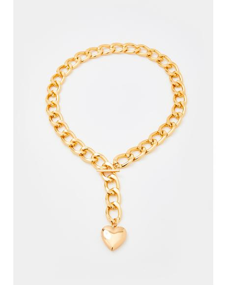 Lost Love Toggle Necklace