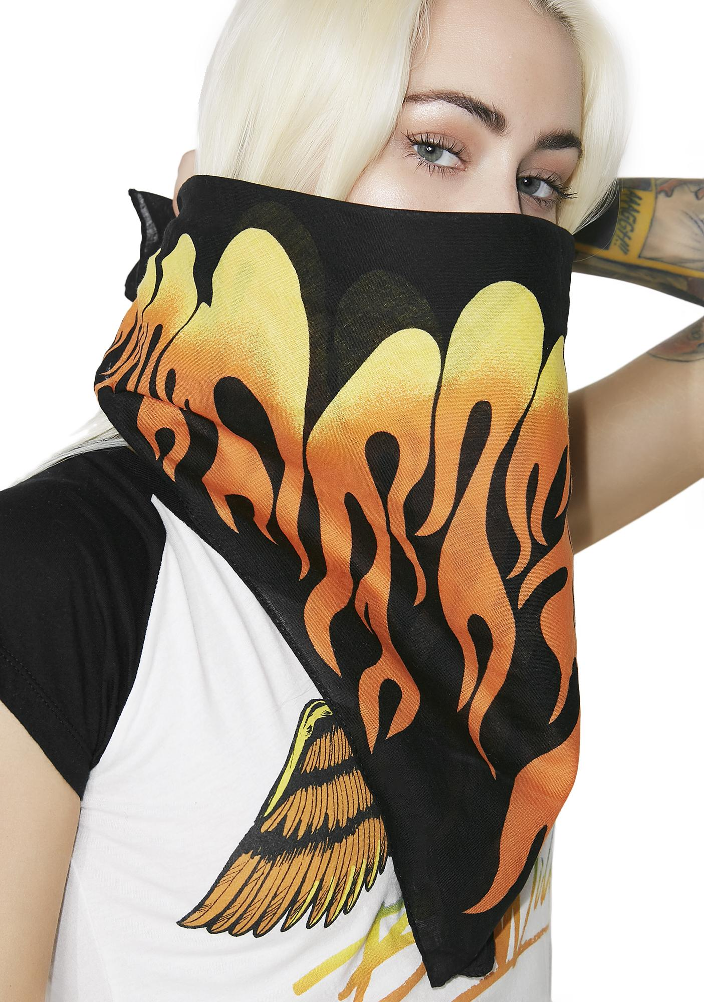 Smokin' Hottie Flame Bandana