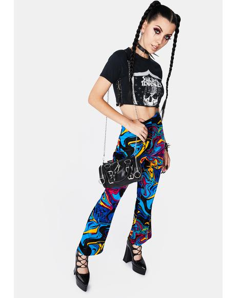 Psychedelia Flare Pants