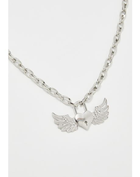 Baby Love Wings Necklace