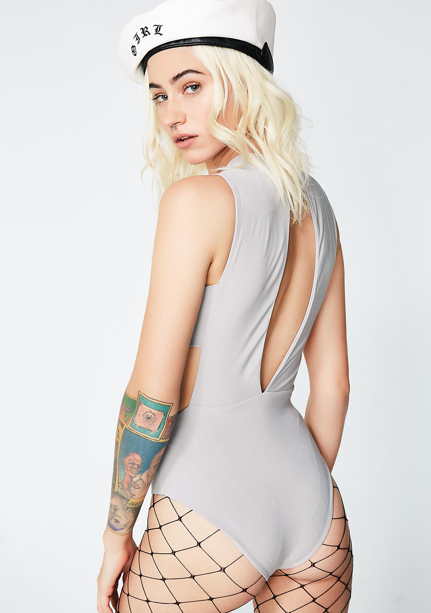 Smooth Criminal Cut-Out Bodysuit