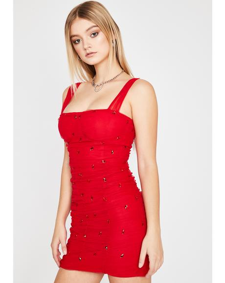 Hot Stellar Scene Bodycon Dress