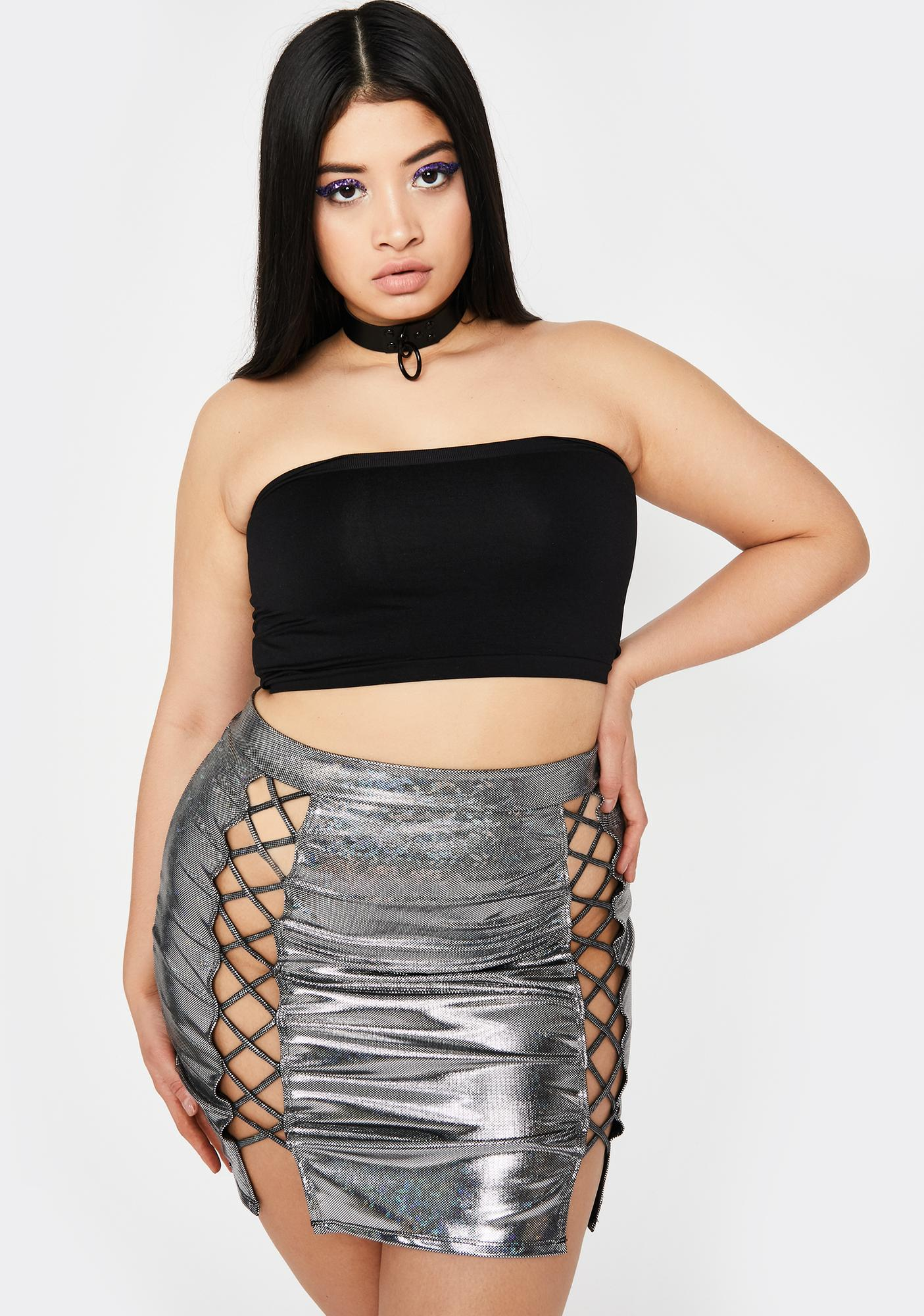 True Crude Glamour Mini Skirt