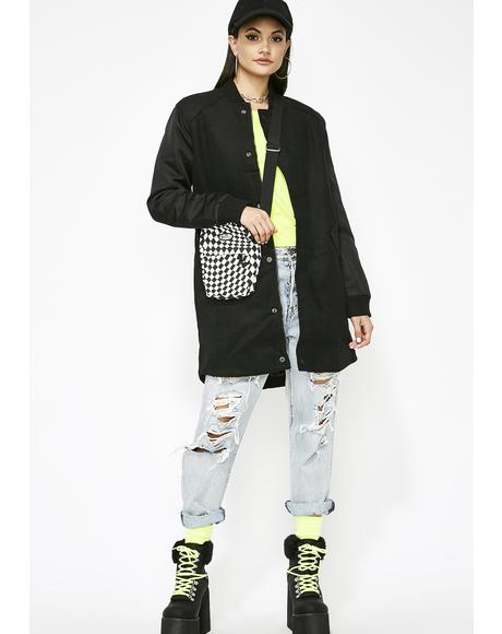 Street Rules Bomber Coat