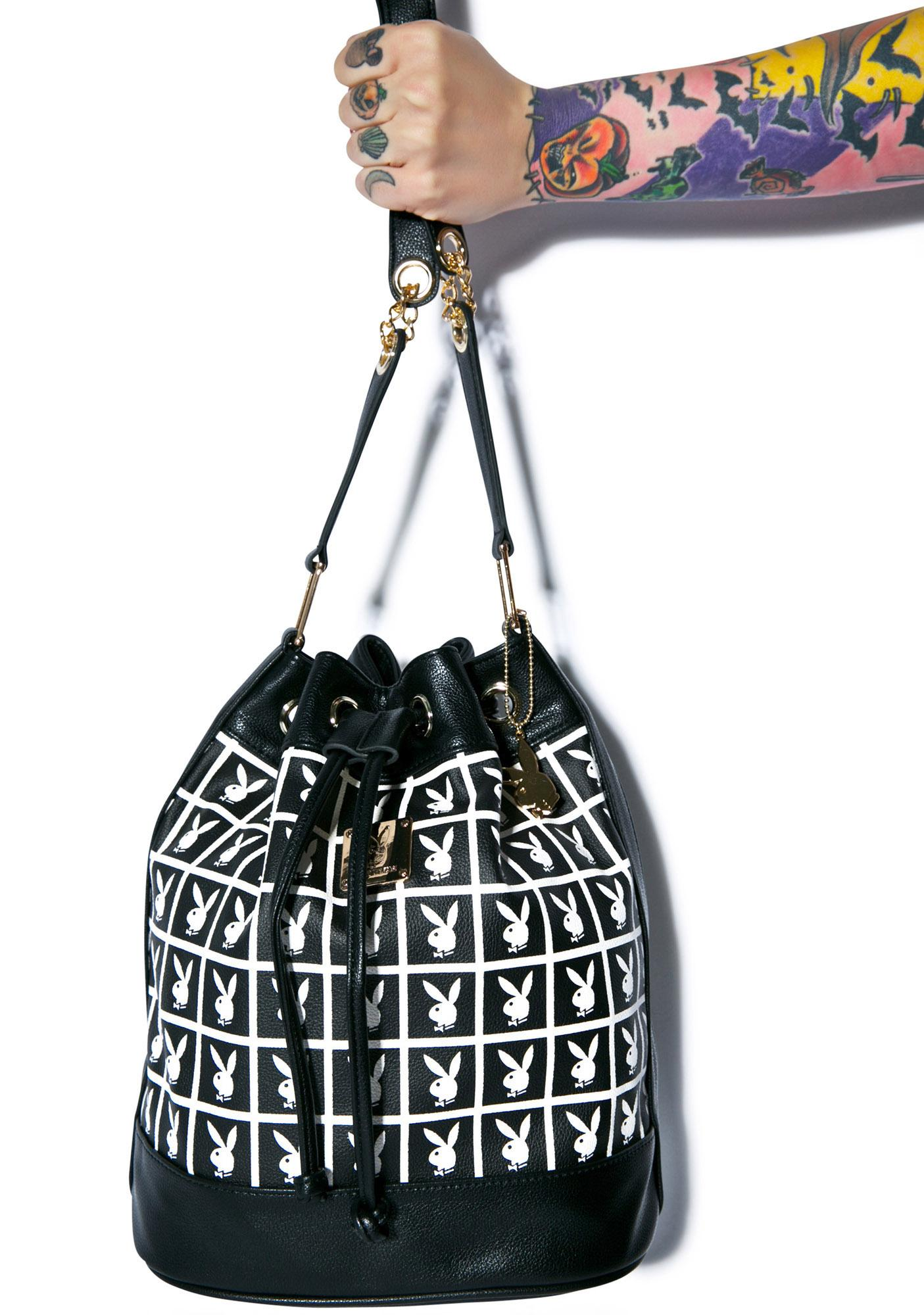Joyrich X Playboy Panel Bucket Bag