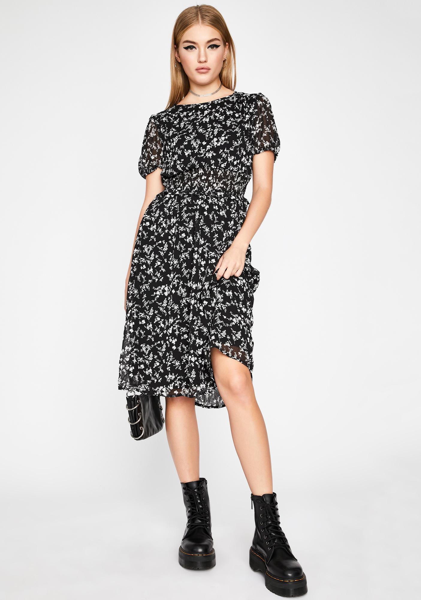 Gives You Life Midi Dress