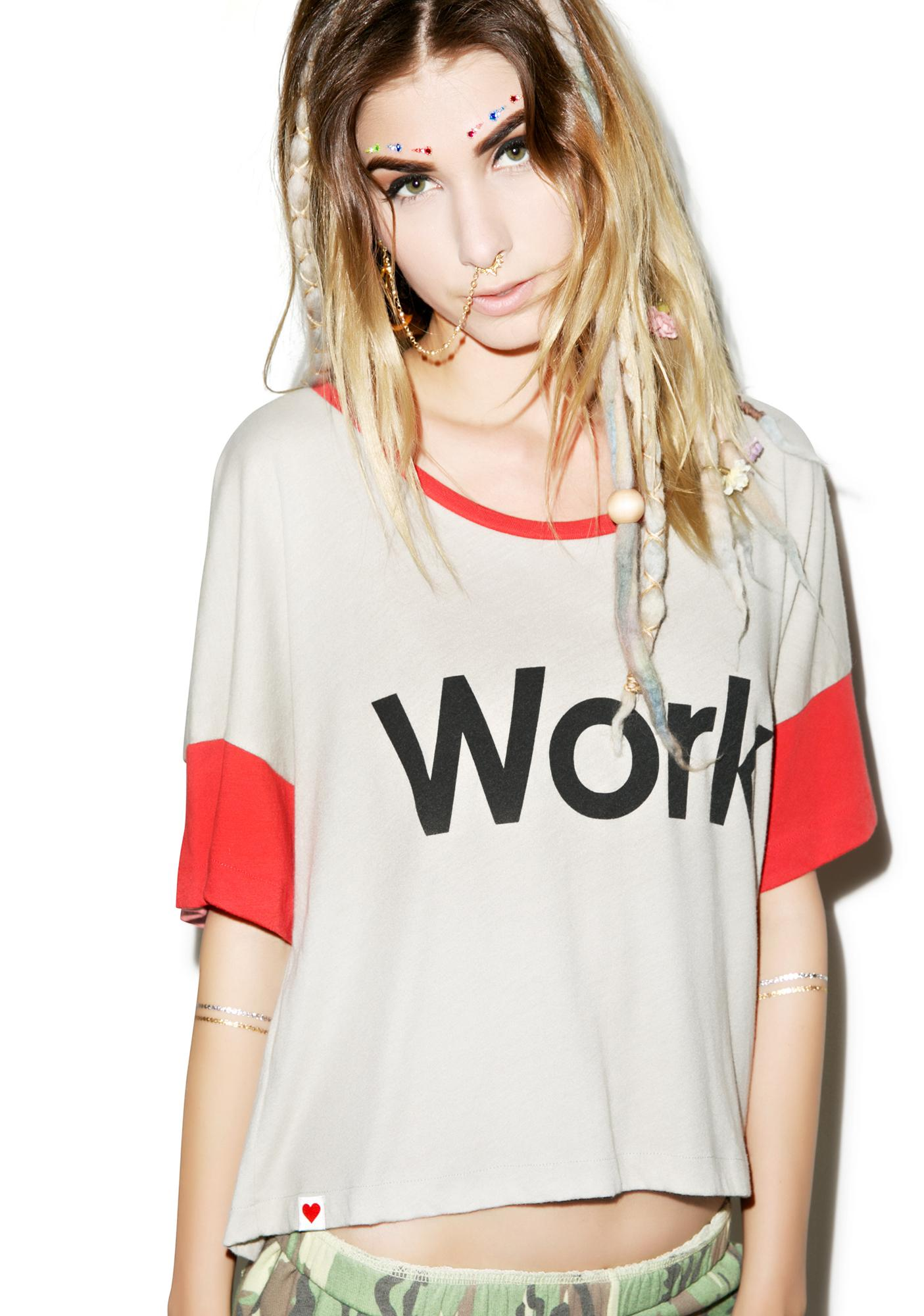Wildfox Couture Work Pop Tee