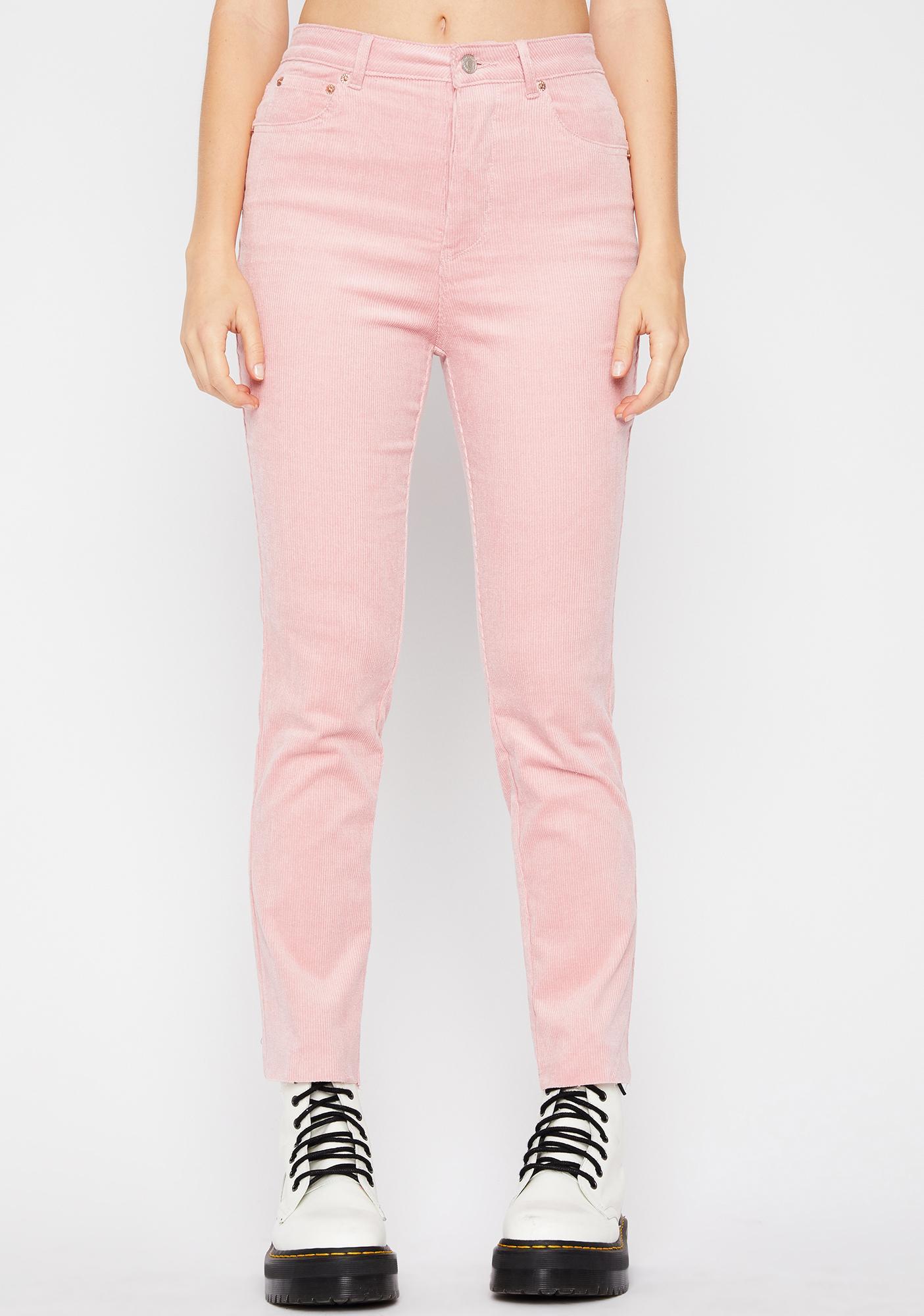 Bubblegum Fallin' Hard Corduroy Pants