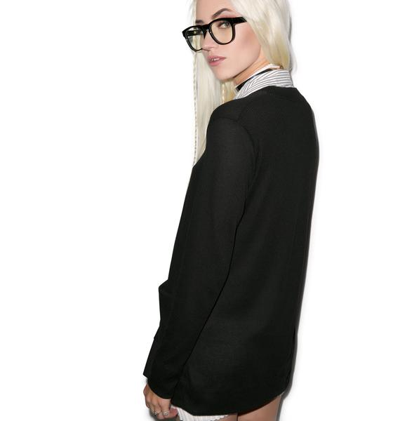 JET by John Eshaya Preppy Cardigan Shirt