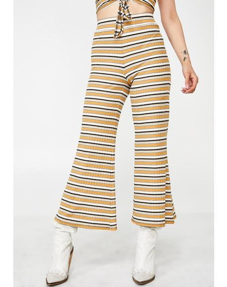 Stone Stripe Pants