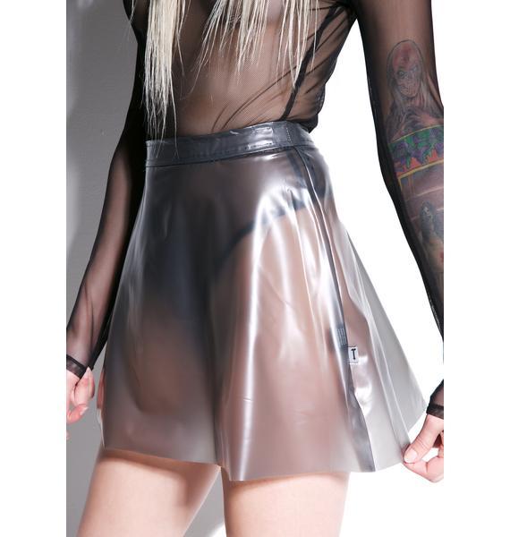 Tripp NYC Smoke Plasmatic Skirt