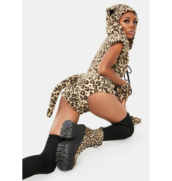 Dolls Kill Playful Pounce Costume Set