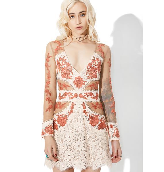 For Love & Lemons Mallorca Tulle Dress