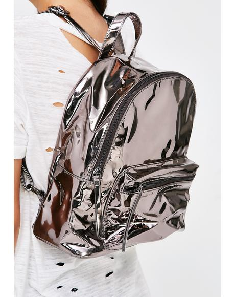 Strange Encounters Chrome Backpack