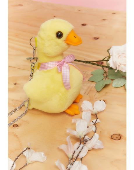 Quacking Up Duck Mini Purse