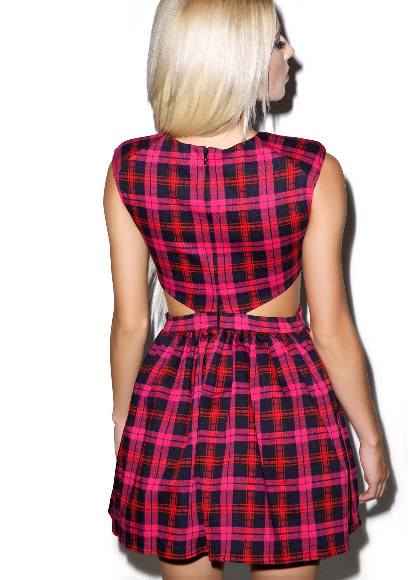 Laid Jack Cutout Dress
