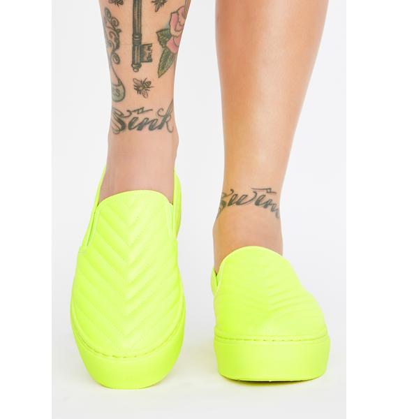 Highlight Heartbreaker Slip On Sneakers