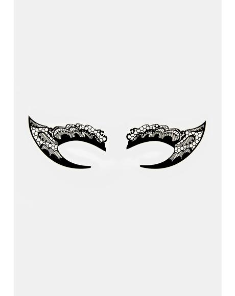 Mystical Mistress Temporary Eye Tattoos