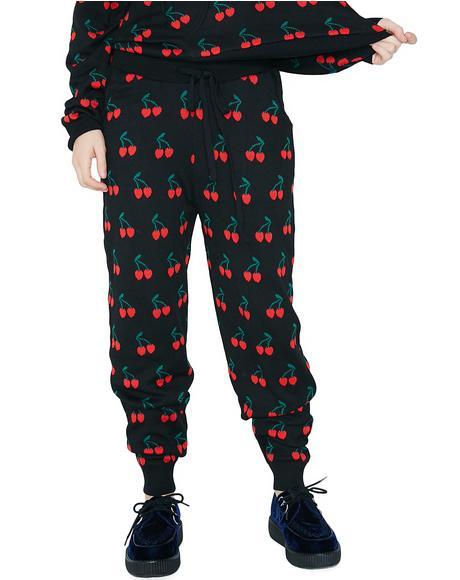Cherry Bomb Sweatpants