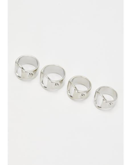 Shining Armour Ring Set