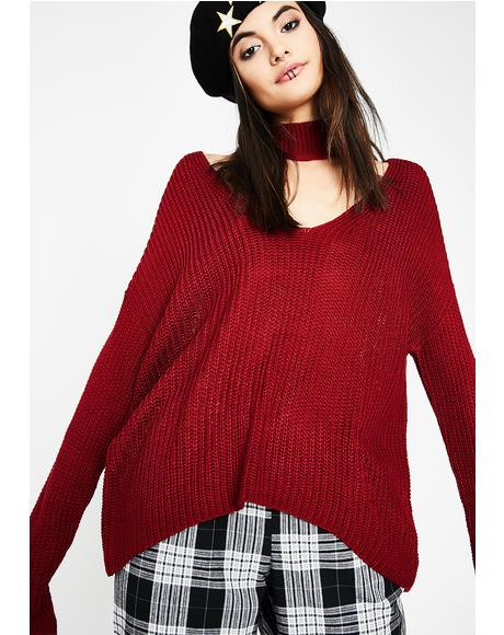Love Sikk Knit Sweater