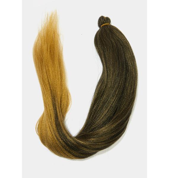 Classic Jasmine Ombre Honey Blonde Rich Braid Hair