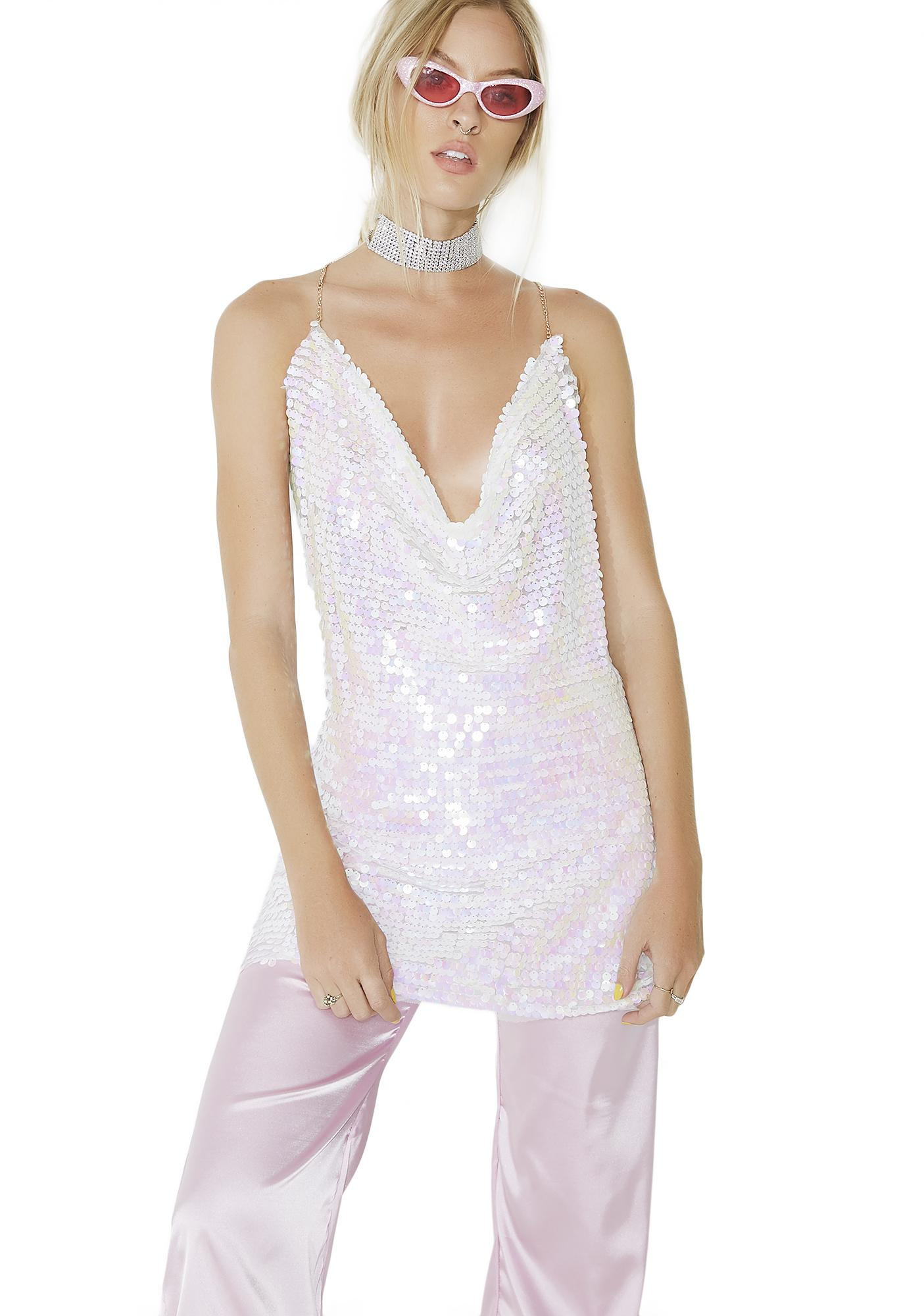 Scene Stealer Sequin Tunic