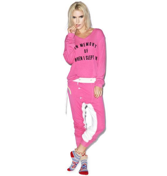 Wildfox Couture After Children Baggy Beach V-Neck Jumper