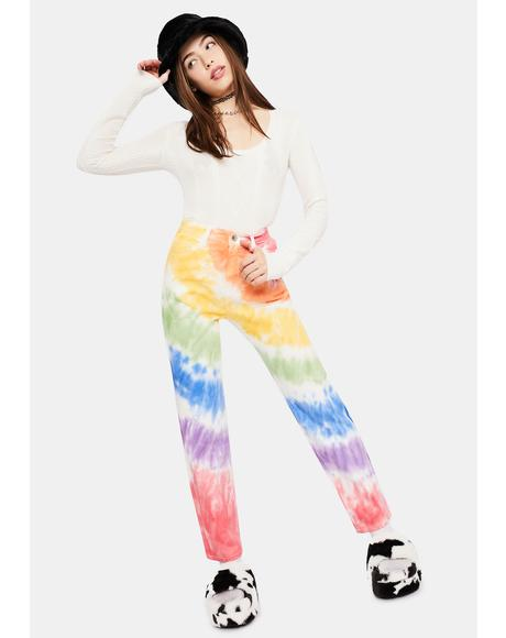 Jolly Happy Soul Tie Dye Jeans