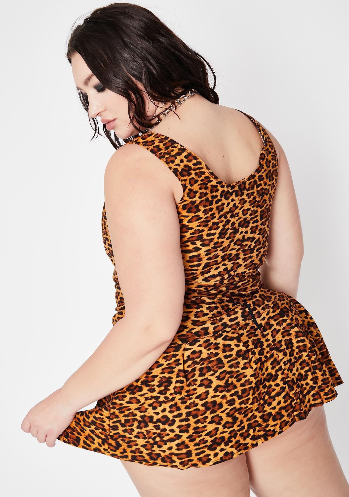 Mz Feline Wild Skirt Set