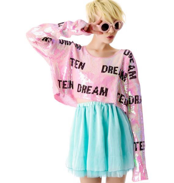 Wildfox Couture Teen Dream Billy Crop Sweater