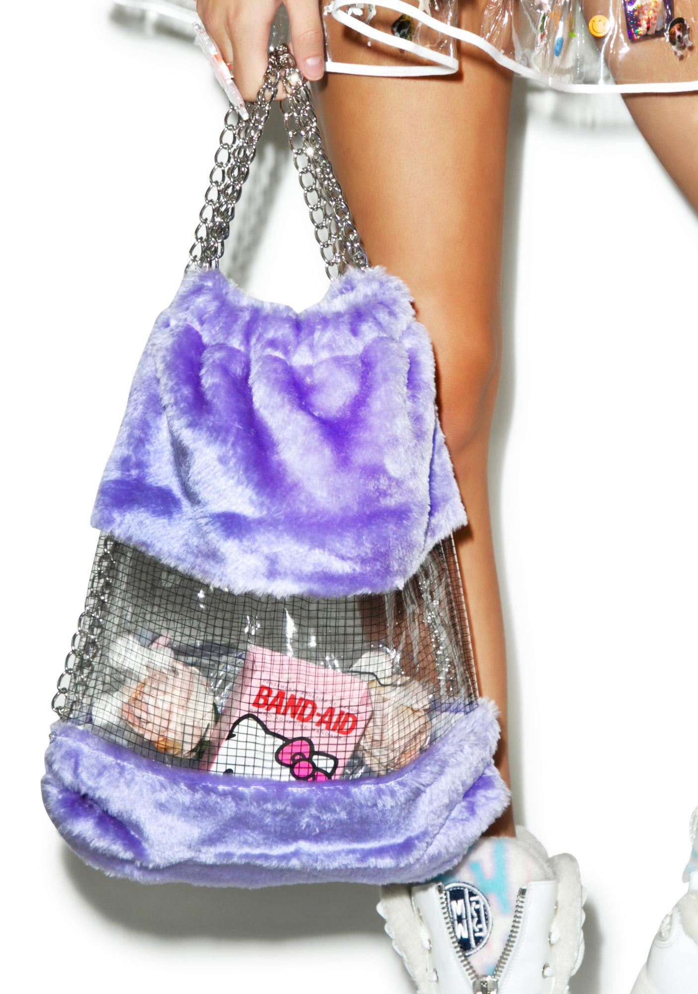 Fluffy Dreamz Drawstring Backpack