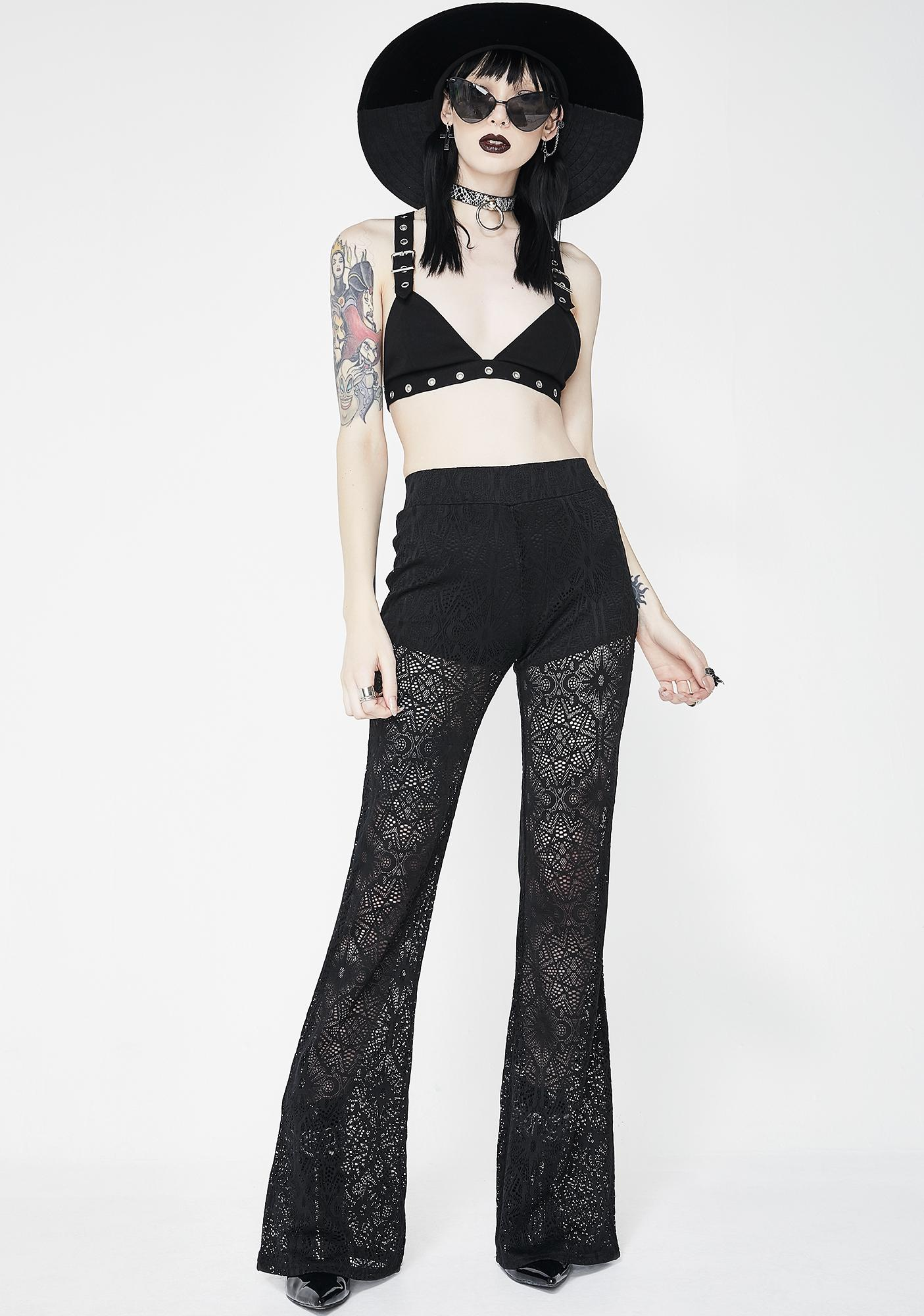 Killstar Dream On Bell Bottoms