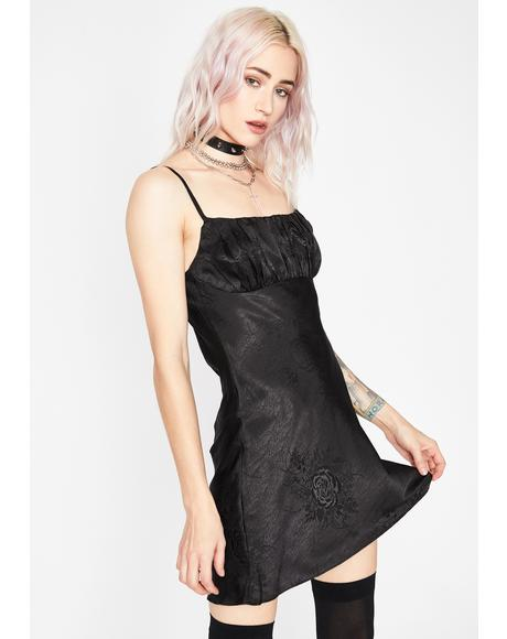 Sinfully Your Angel Slip Dress