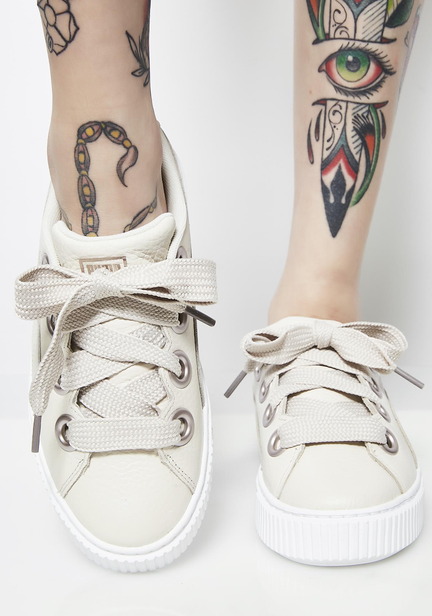 PUMA Platform Kiss Lea Sneakers