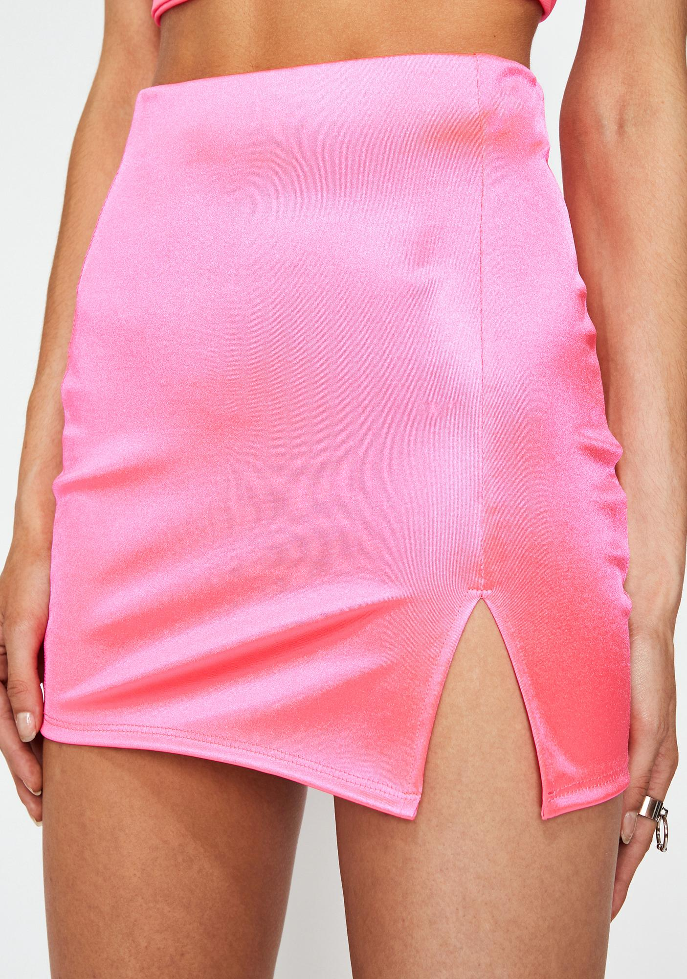 Baby Party Fever Satin Skirt