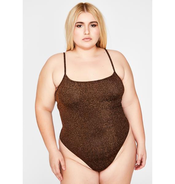 The Best For Last Glitter Bodysuit