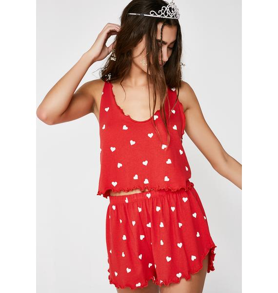 Wildfox Couture Falling Hearts Tank