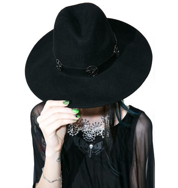 Killstar Sigil Fedora Hat