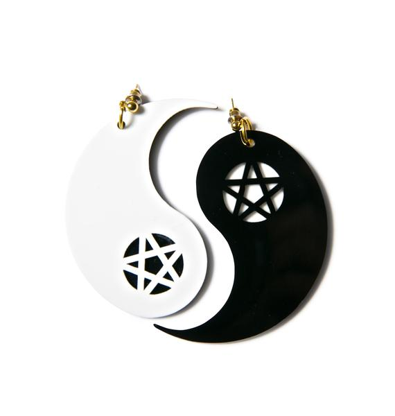 Ying to My Yang Earrings